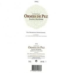 Ch. Ormes De Pez 2008