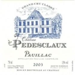 Ch. Pedesclaux 2005